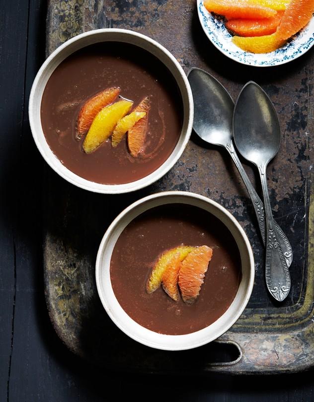 Ciocolata calda cu portocale