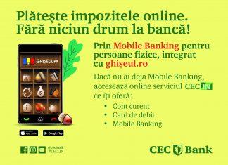 CEC Bank taxele si impozitele locale