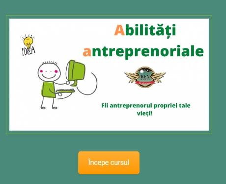 Cursul de abilitati antreprenoriale