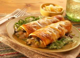 Enchilada de pui