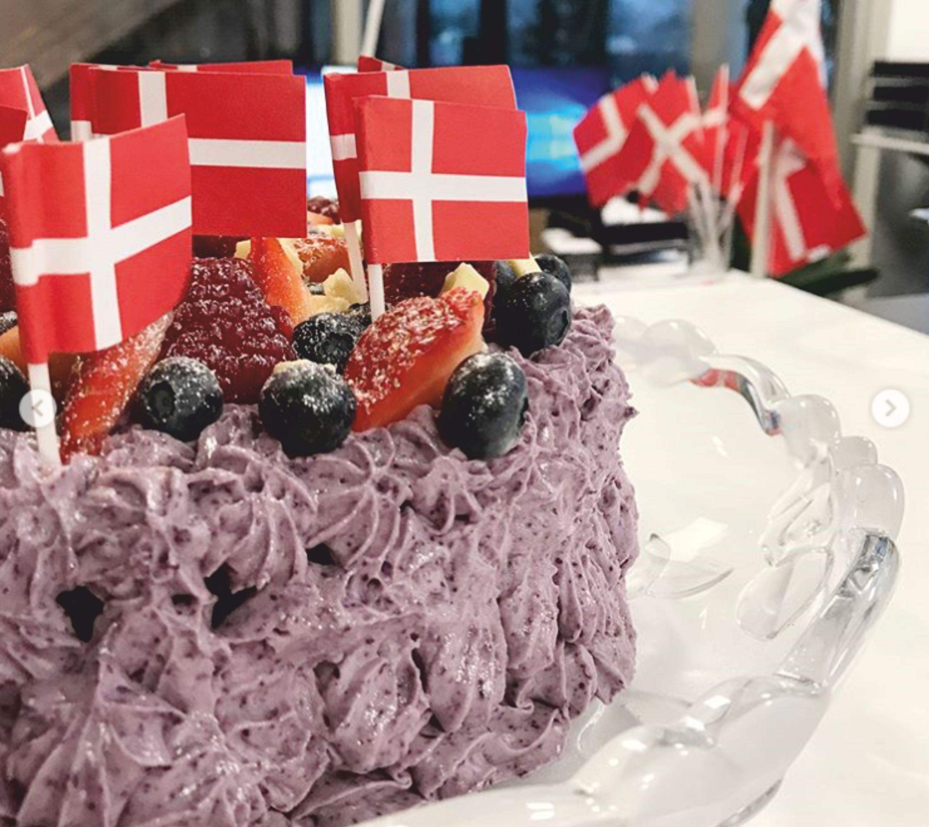 Lagkage Tort danez 1