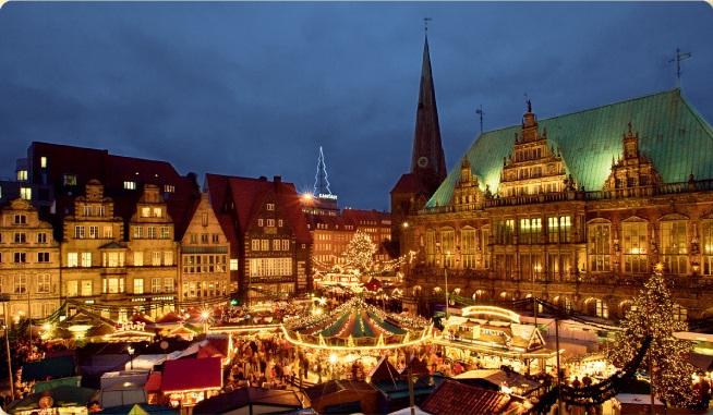 Piata de Craciun din Viena Austria