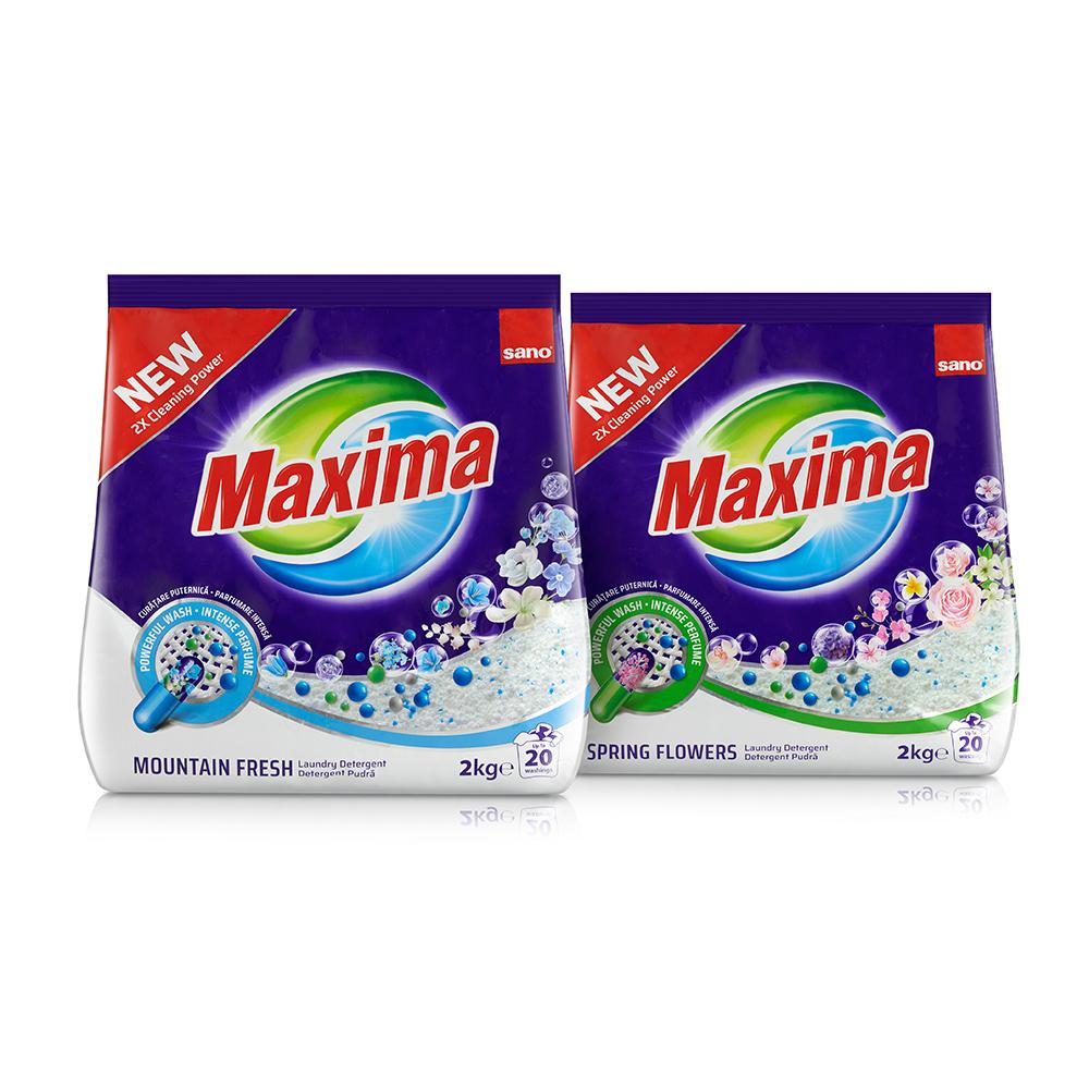 Sano Maxima detergent pudra 2Kg