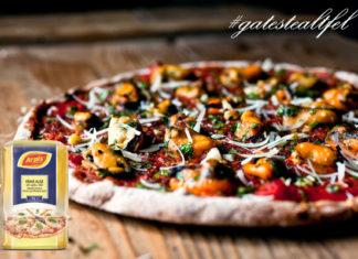 Pizza cu scoici