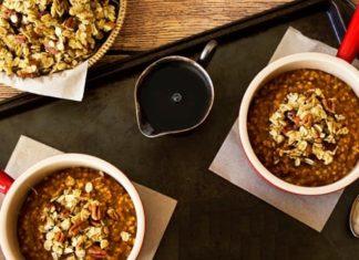 quinoa cu mere la cuptor