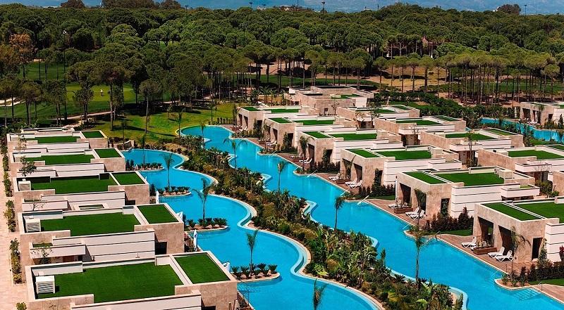 regnum carya resort pool
