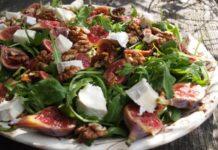 Salata_cu_branza_de_capra_si_nuci