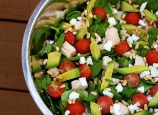 Salata racoroasa cu branza