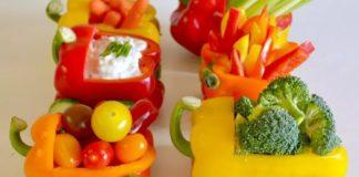 trenuletul cu legume